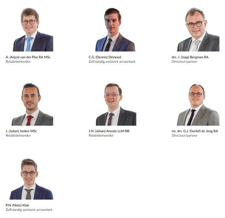 Medewerkers Van Ree Accountants - Alphen aan den Rijn